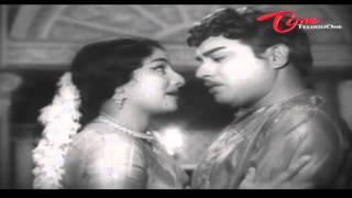 Prana Mithrulu Telugu Movie Songs | Gunde Jhallu Mannadee | Akkineni Nageshwara Rao | Savitri