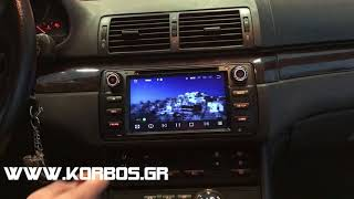 Bmw E46 with Android 8 Multimedia Bizzar BL-BM66 www.korbos.gr