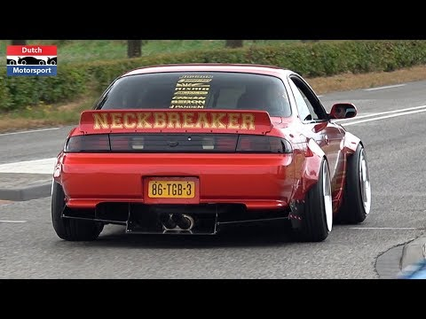 Nissan Silvia Compilation! - 1JZ S13, RB25 S15, Rocket Bunny, 270HP S12, 350HP S14a,...