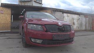 Skoda Octavia. Кузовной ремонт