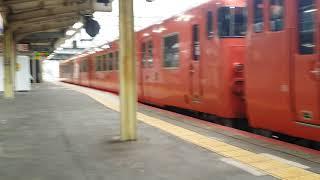 キハ40,キハ47回送列車5両編成