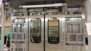 【JR東】E231系〝ドア装置@鉄道ふれあいフェア大宮2017〟