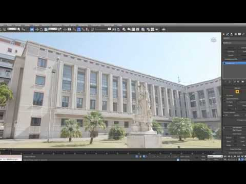 Image based modeling with 3dsMax Palazzo M part1