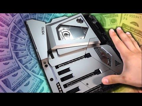 UNBOXING A $1,000 MOTHERBOARD!! - AsRock X570 Aqua