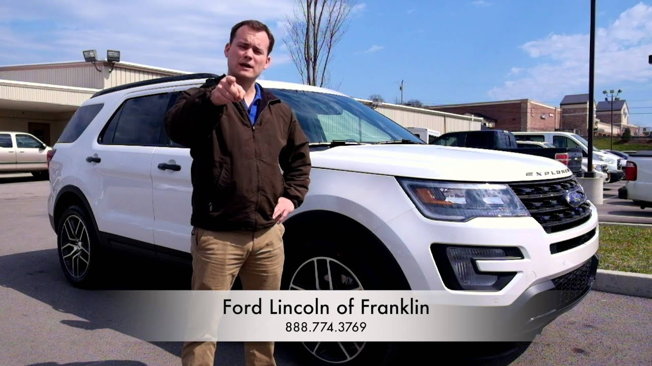 Ford lincoln of franklin afford a ford
