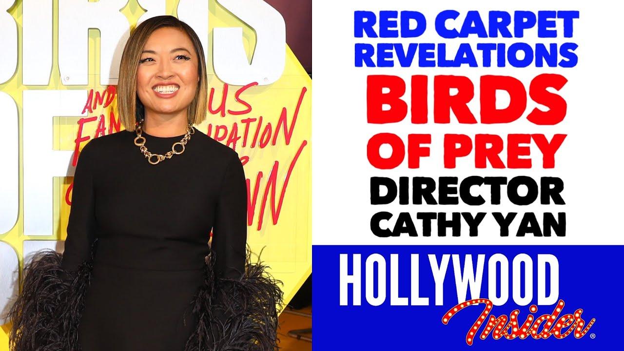 Birds Of Prey Red Carpet Revelations Director Cathy Yan Margot Robbie Youtube