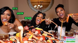 Seafood Boil with Porsha and Lauren Williams from Real Housewives of Atlanta