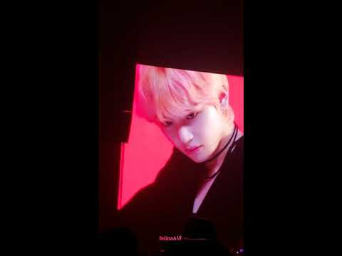 180929 (VCR+V Solo: Singularity) - BTS 'Love Yourself' Tour Newark Day 2
