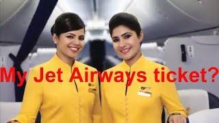 What happens to my Jet Airways ticket?