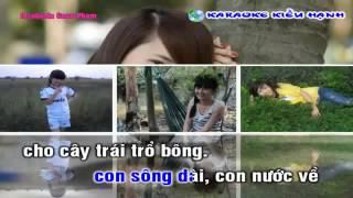 KARAOKE CHIM TRANG MO COI REMIX -LAM KIEU HANH