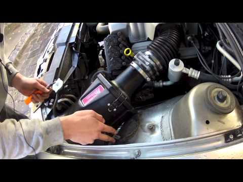 How to install SS Inductions Growler Kit into Holden Commodore V6 VT VX VU  VY and V6 Supercharge