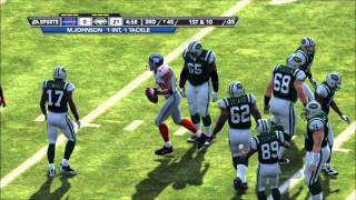 Madden 12: New York Giants vs. New York Jets