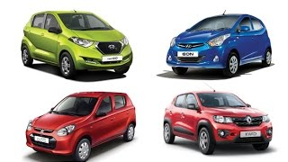 Best 4 Budget Cars under 3 Lakhs Price & Full Specification