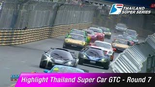 Highlight Thailand Super Car GTC Round 7 | GT3 / TA2  Round 1 | Bangsaen Grand Prix