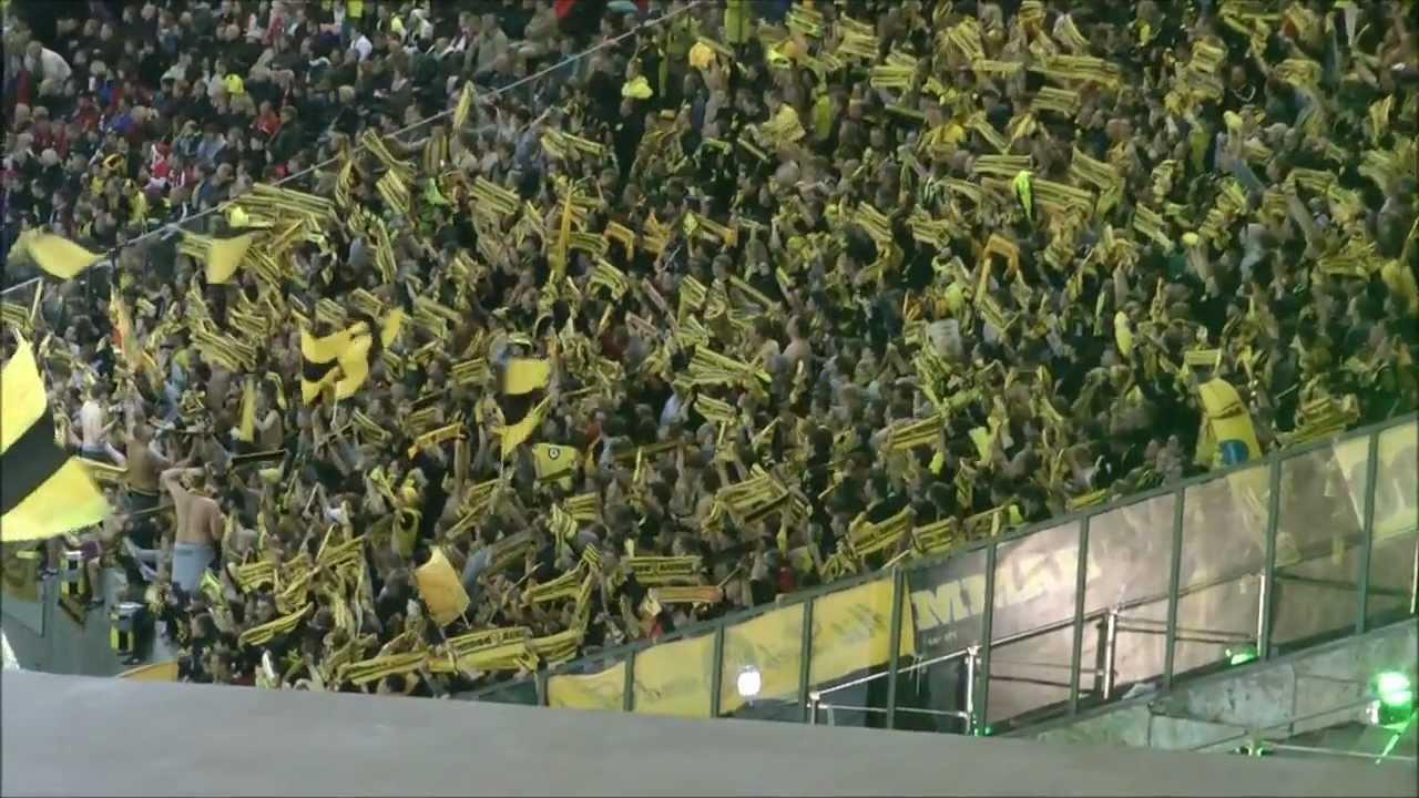 Borussia Dortmund - Bayern München Stimmung Teil 2 BVB
