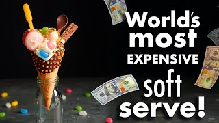 4-hour Billionaire's £99 Soft Serve Challenge!  How To Cook That Ann Reardon