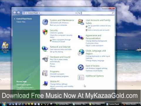 Uninstall http://KazaGold.com Music Downloads Software