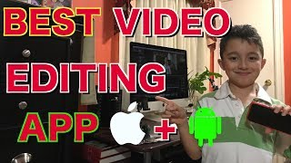 Best Video Editing App for iPhone , Best Video Editing App for Android, Best Video Editing iOS App