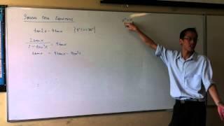 Solving Trigonometric Equations (1 of 2)