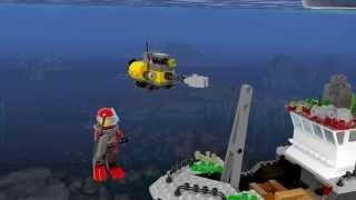 lEGO: Корабль исследователей морских глубин 60095