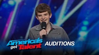 Leo Lytel: Awkward High School Student Nails His Standup Act - America