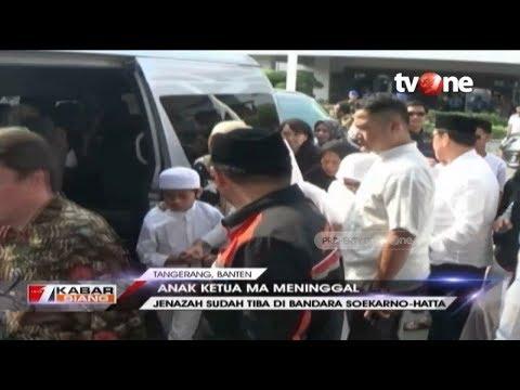 Jenazah Mohammad Irfan, Anak Ketua Mahkamah Agung Tiba Di Rumah Duka
