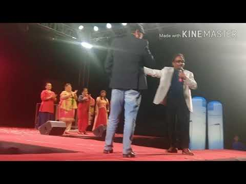 MNIT Director sir's Ramp walk performance at BLITZSLAG 2K18 IN Panache fashion show