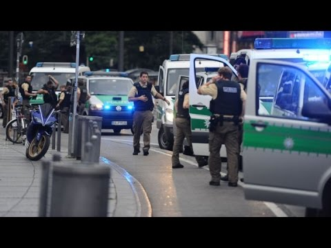Munich shooting attack leaves many dead