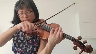 Ysaye Sonata no. 2: Danse des Ombres