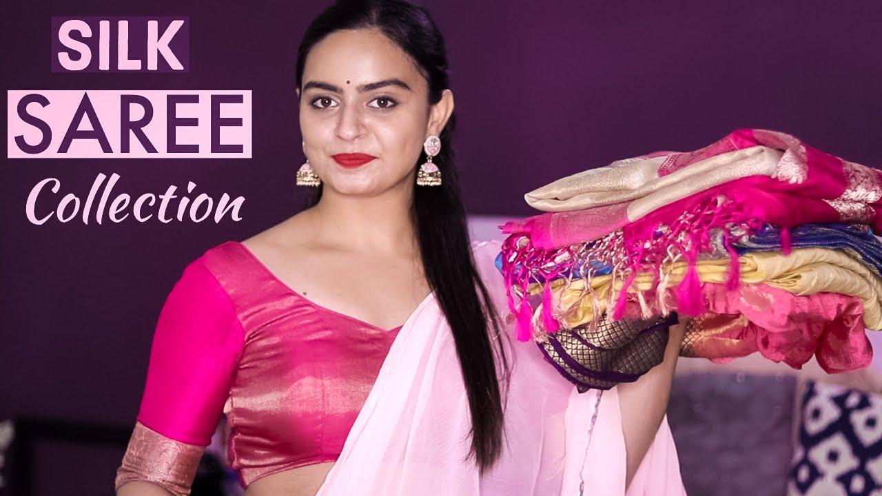 My SILK Saree Collection 2020 | सिल्क साड़ी कलेक्शन २०२० #sareecollection #silksaree