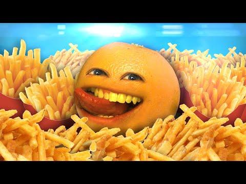 Annoying Orange  Fryday Rebecca Black Friday Parody