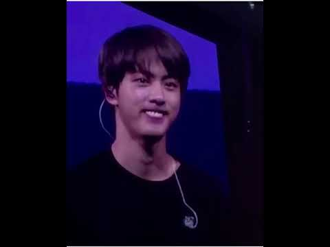 180917 Bts Jin Doing A Funny Facial Expression Youtube