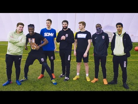 SIDEMEN TOTAL WIPEOUT FOOTBALL CHALLENGE (Behind the Scenes)
