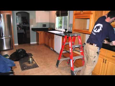 PDX ReStore Salvage Service: Watch us deconstruct a kitchen!
