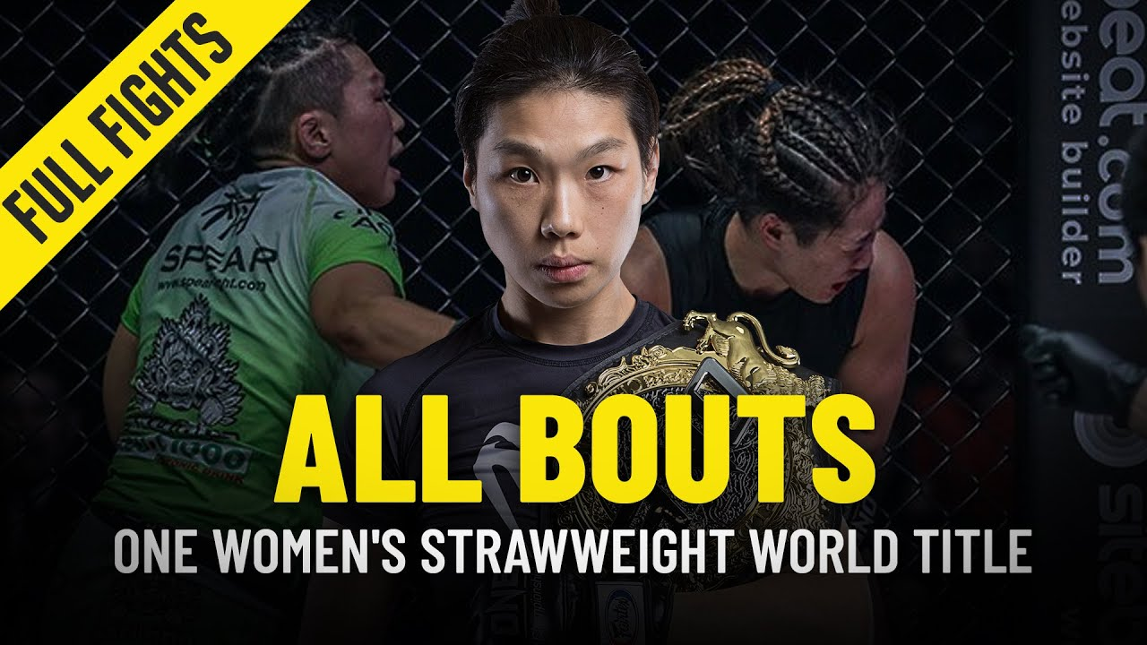 History Of The ONE Women's Strawweight World Championship | ONE Full Fights