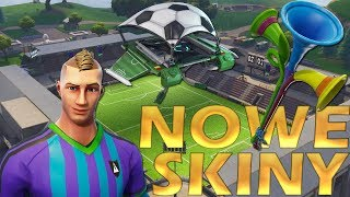 Fortnite-New Skins on the Mundial-Polish skin! Presentation, change and test! * Wuwuzeli Sound!