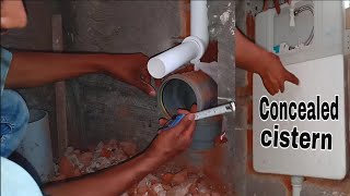 Concealed Cistern Easy Fitting. Video