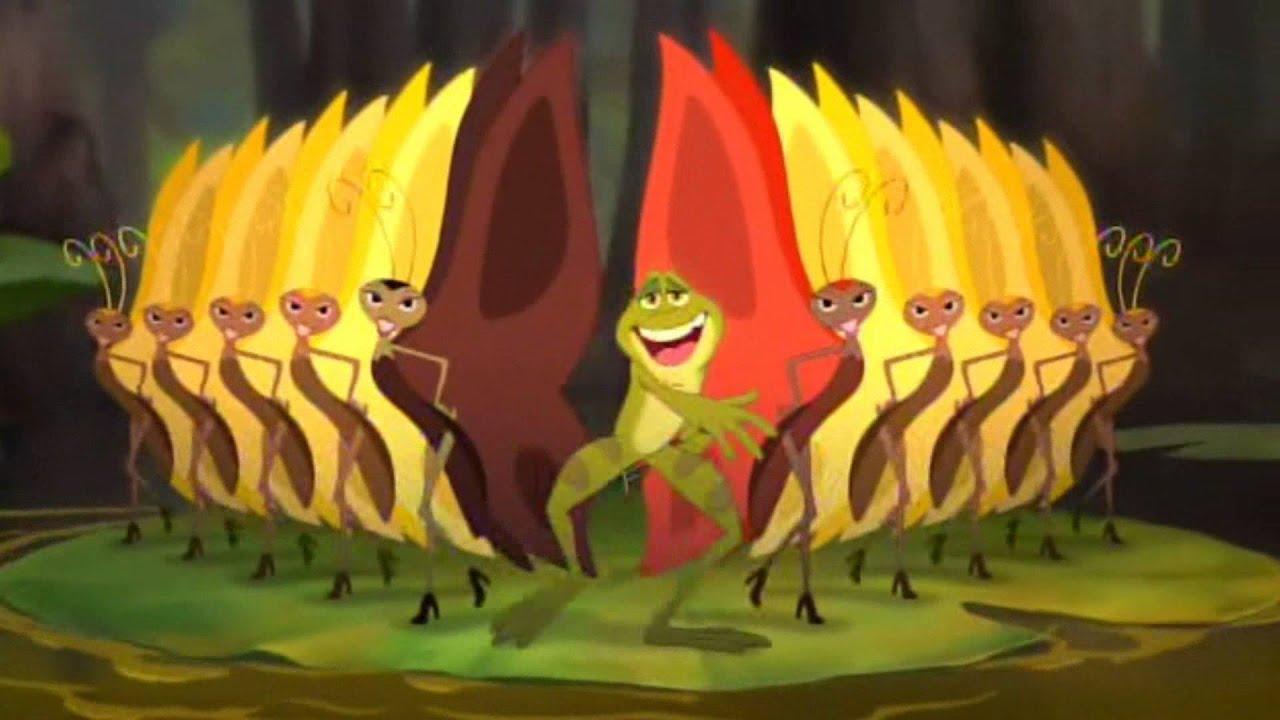 Księżniczka i żaba Człowiekiem gdybym był HD