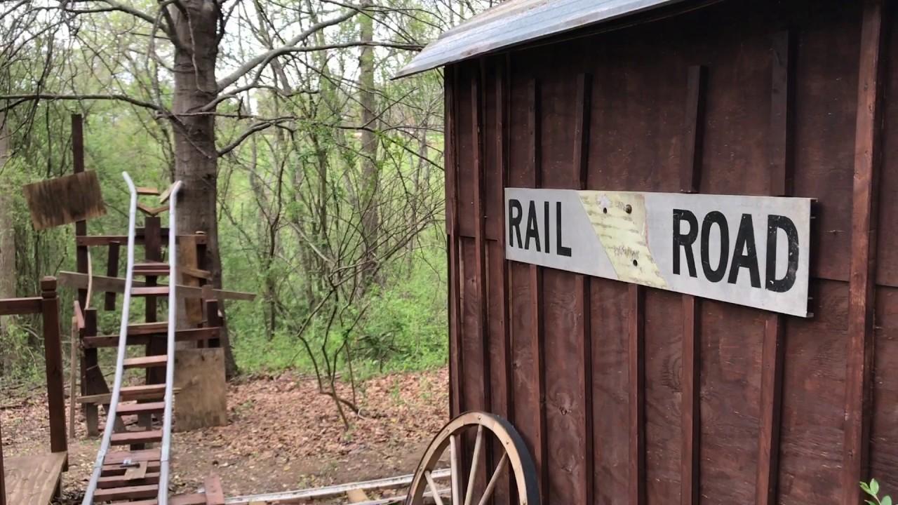 White Mountain Railroad backyard PVC rollercoaster TRAILER ...