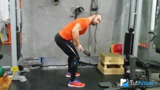 Тяга штанги в наклоне - ошибки начинающих спортсменов