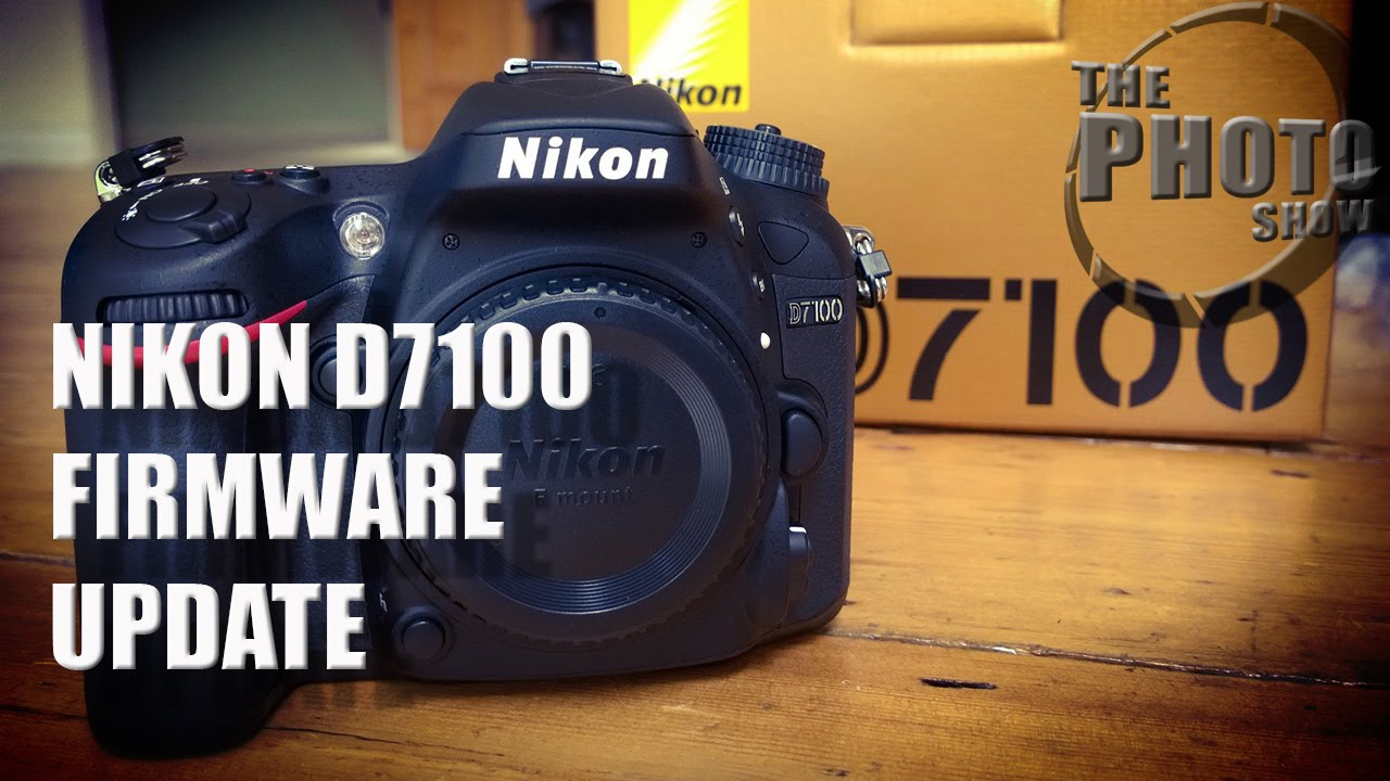 Nikon D7100 Firmware Update - YouTube