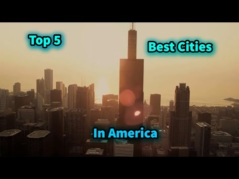 Top 5 Most Beautiful Cities in America 2017!