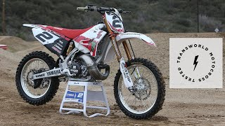 Testing RV2's Red Bull Straight Rhythm YZ250