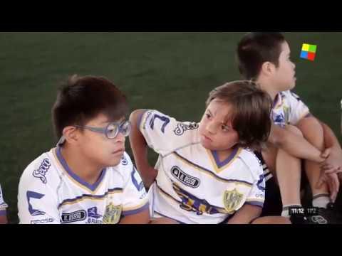 Una escuela de fútbol para niños y adultos con Síndrome de Down
