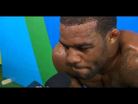 Jordan Burroughs emotional