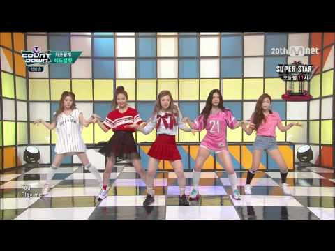 [HD 60fps] 150910 - Red Velvet (레드벨벳) - Huff n Puff + Dumb Dumb  - M! Countdown (엠! 카운트다운)