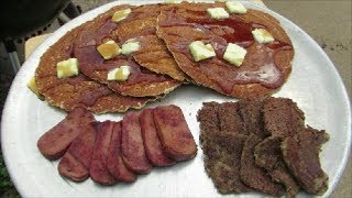 Pancakes And Scrapple Breakfast - The Wolfe Pit