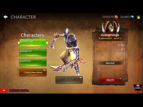 Dungeon Hunter 4 Mod  Unlimited Money +cách Lấy Vũ Khí Vip