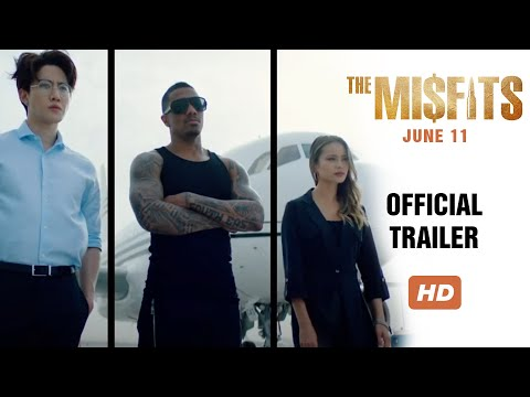THE MISFITS - Official Trailer (HD) - In Theaters June 11 & On Digital June 15
