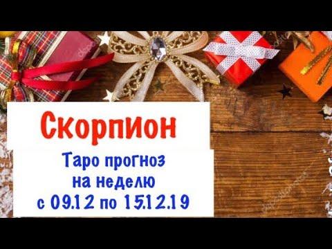 Скорпион _ гороскоп таро на неделю с 09.12 по 15.12.19 _ Таро прогноз